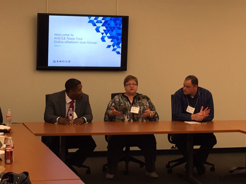 Customer panelists share best practices and strategies at Dallas event.